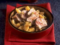 Mediterranean Lamb with Spiced Quince recipe