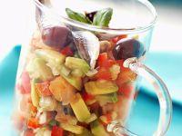 Mediterranean Oily Fish Salad Cup recipe