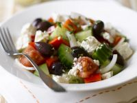 Mediterranean Olive and Tomato Salad recipe