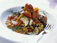 Mediterranean Rice Bowl recipe