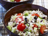Mediterranean Rice Salad recipe