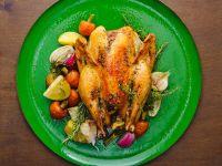Mediterranean Roast Chicken recipe