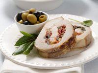 Mediterranean Roast Pork Roll recipe