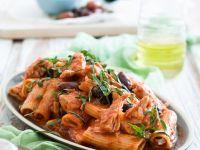 Mediterranean-style Rigatoni recipe