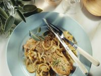Mediterranean Veal with Onions and Herbs recipe