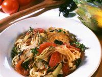 Mediterranean Vegetable Pasta recipe