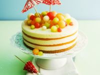 Melon and Champagne Layer Cake recipe