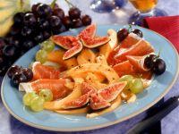 Melon and Figs with Prosciutto recipe