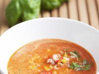 Melon and Pepper Soup recipe