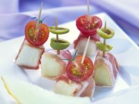 Melon and Prosciutto Canapés recipe