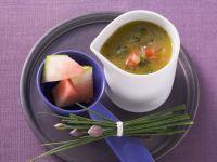 Melon and Tomato Dressing with Vanilla recipe