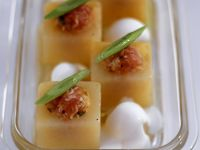Melon Square Appetisers recipe