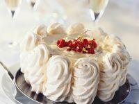 Meringue Coffee Cream Cake recipe