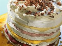 Meringue Ice Cream Cake recipe