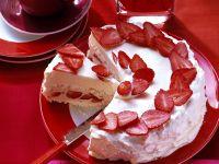 Meringue Strawberry Torte recipe