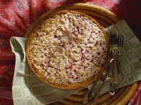Meringue Tart with Currants and Almonds recipe