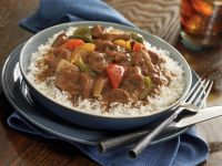 Mexican Beef Stew with Rice recipe