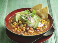 Mexican Mixed Bean Stew recipe
