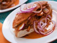 Mexican Spicy Pork Sandwich recipe