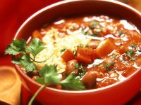 Mexican-style Bean Soup recipe
