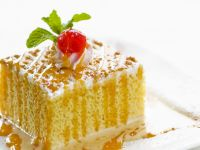 Mexican Style Milk Cake (Tres Leches) recipe