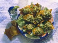 Mexican Tacos with Olive and Potato Filling