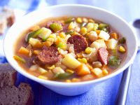 Mexican White Bean and Chorizo Soup recipe