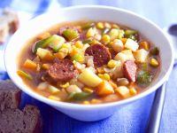 Mexican White Bean and Chorizo Soup