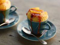 Microwave Cointreau Souffles recipe