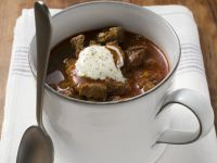 Microwave Steak Stew with Sour Cream recipe