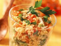 Middle Eastern Grains with Tomato recipe