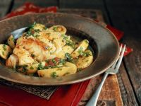 Middle Eastern Potato and Fish Stew recipe