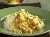 Mild Chickpea Curry recipe