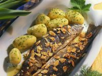 Miller-Style Trout with Potatoes recipe