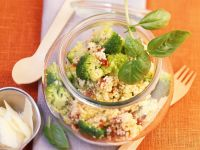 Millet Salad with Broccoli recipe