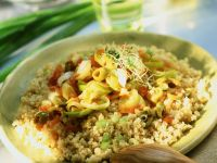 Millet with Vegetables recipe