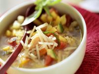Minestrone Soup with Parmesan recipe