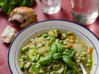 Minestrone with Broad Beans recipe