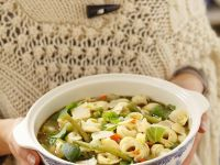 Minestrone with Meat Tortellini recipe