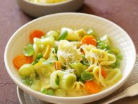 Minestrone with Ravioli recipe