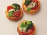 Mini Broccoli Pizzas