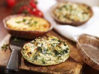 Mini Broccoli Quiches recipe