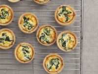 Mini Cheese and Spinach Tarts recipe