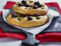 Mini Focaccia with Olives recipe