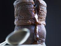 Mini Molten Chocolate Cakes recipe