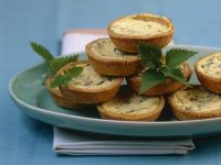 Mini Nettle Quiches recipe