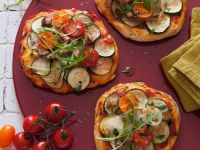 Mini Pizzas with Vegetables recipe