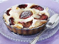 Soft Cheese and Stone Fruit Tart recipe