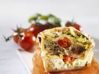 Mini Veg Quiches recipe