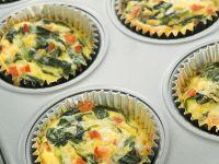 Mini Quiches with Spinach recipe